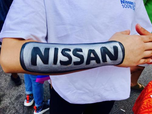Any business logo Face & Arm Painting NISSAN