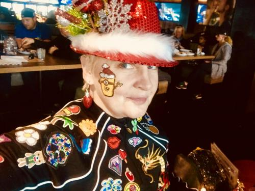 Face Painting Christmas 2017 at the Brickhouse Tavern