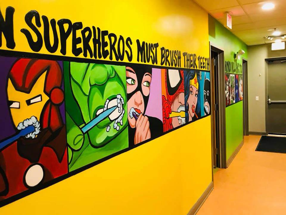 Dentist Office Mural