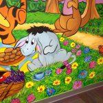 Daycare Center Mural Eeyore