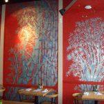 restaurant murals