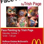 Face painting McDonalds