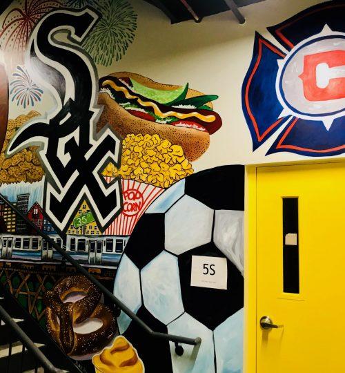 sports murals