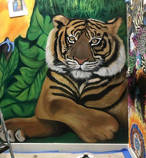 Large Tiger Wall Art