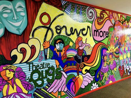 Mural Forevermore Dance Studio wall mural